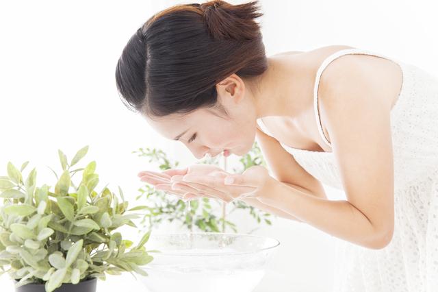 乾燥肌対策に洗顔