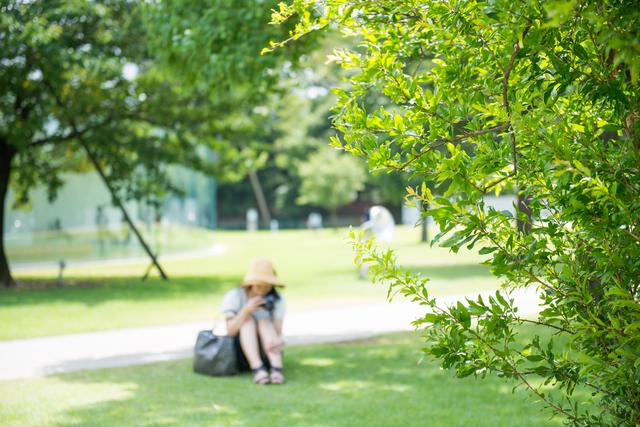 木陰の紫外線対策