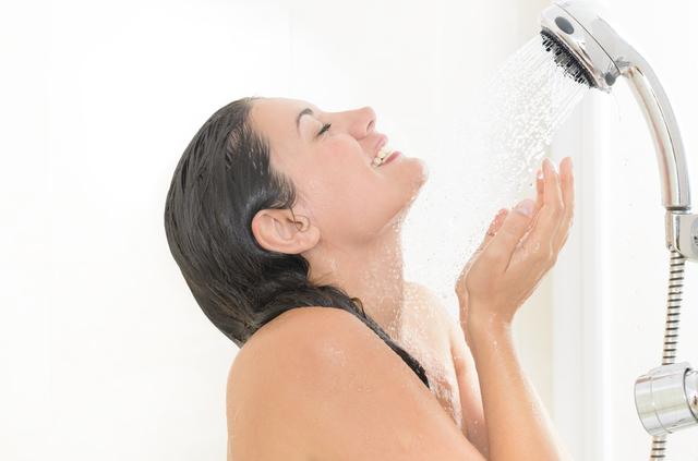 汗とシャワー