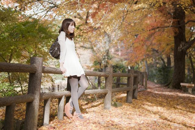 秋ファッションのダイエット
