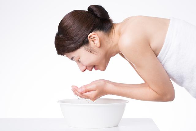 洗顔と皮膚