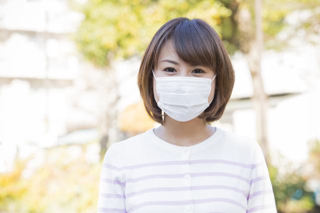 風邪予防にマスク