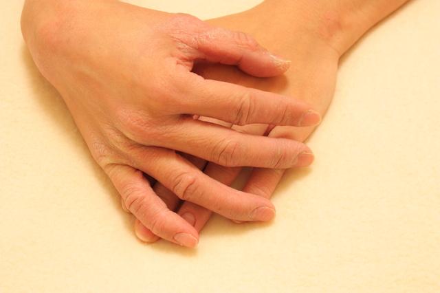 あかぎれと手の乾燥