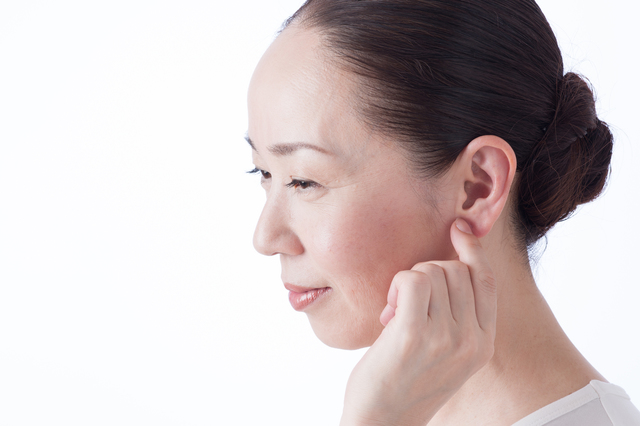 耳つぼのマッサージ効果