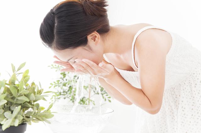 乾燥肌の洗顔