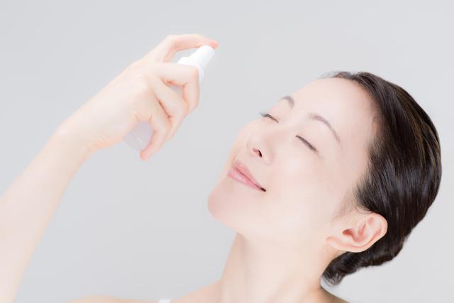 保湿のための化粧水