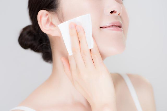 化粧水で保湿