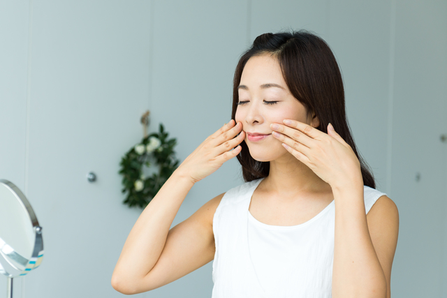 ほうれい線の予防と化粧品