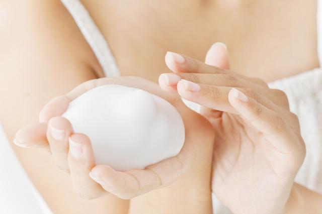 敏感肌の洗顔