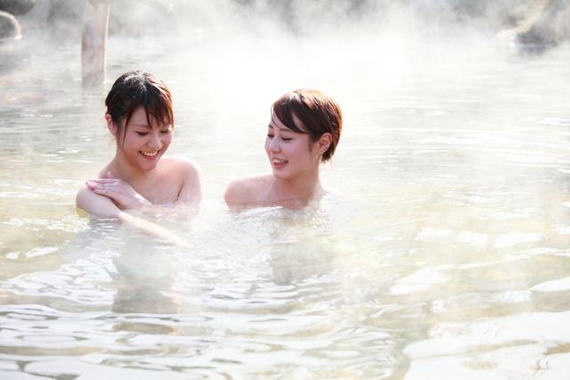 温泉のスキンケア