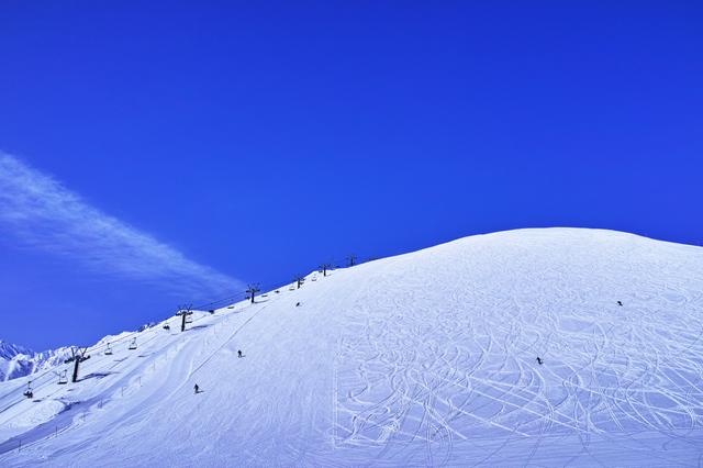 スキー日焼け