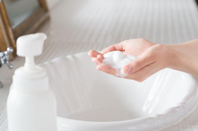 敏感肌の洗顔料