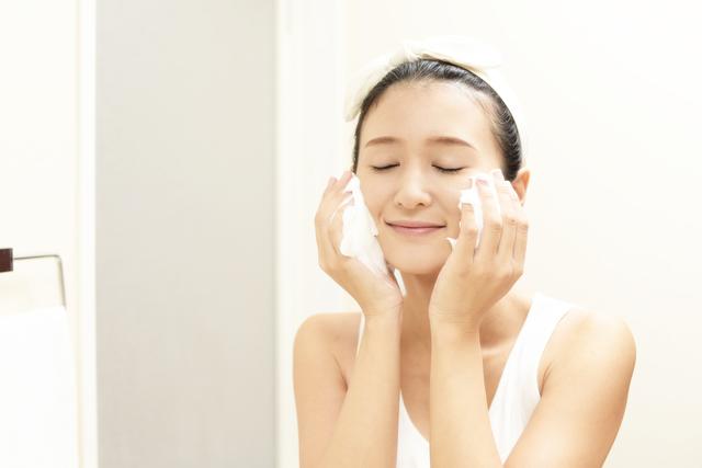 混合肌洗顔